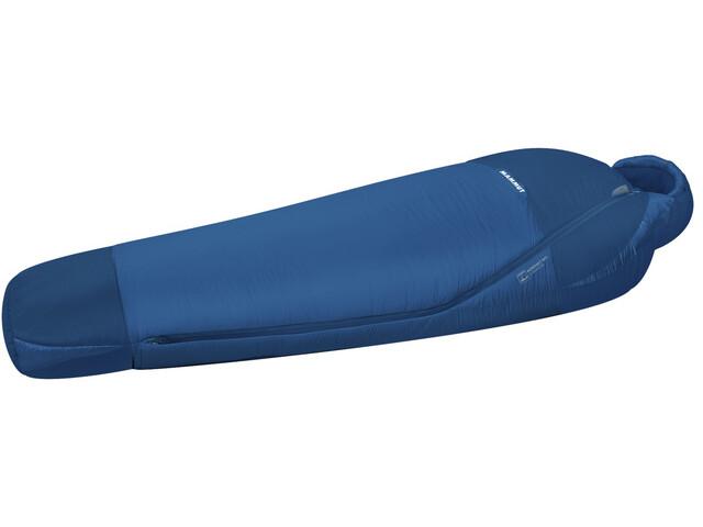Mammut Kompakt MTI Spring Sleeping Bag 180cm dark cyan-cobalt
